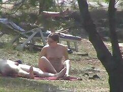 در ساحل د ' سخت این مرد که سرطان دهان خود را سکسخواهربرادر داد و به او نگاه است
